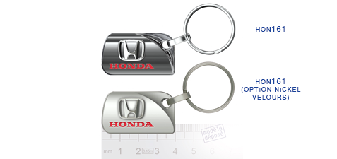 Porte clés Honda hon161/hon161 (option nickel velours)