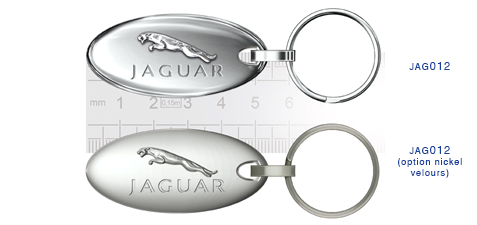 Porte clés Jaguar jag012/jag012 (option nickel velours)